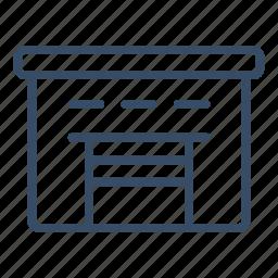 business, cargo, logistics, storage, storehouse, transport, warehouse icon