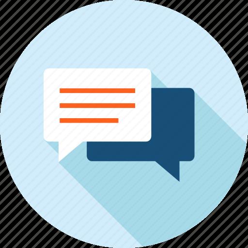 chat, communication, faq, long shadow, social media, support icon