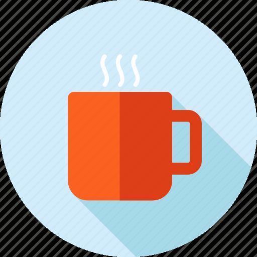 break, coffee, drink, long shadow, restaurant, tea icon