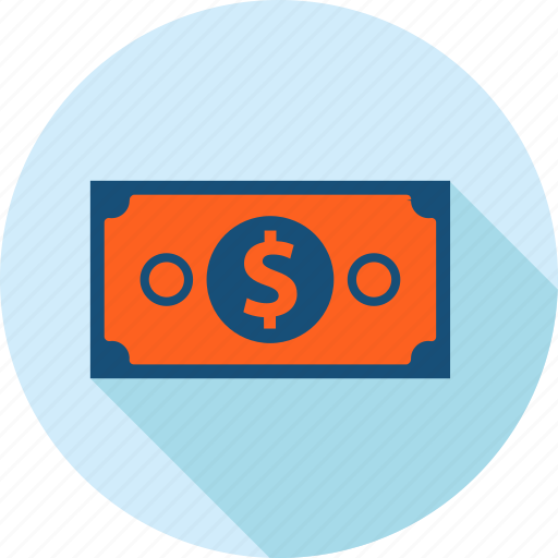 banking, bill, currency, finance, flat design, money, payment icon