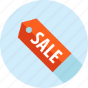 e-commerce, flat design, label, long shadow, sale, shopping, tag icon