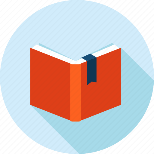 book, education, flat design, knowledge, learning, long shadow, school icon