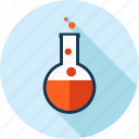 development, education, flat design, laboratory, medicine, research, science icon