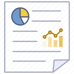 data, document, paper, report, research, statistical, study icon