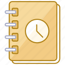 agenda, day, log, organizer, planner, schedule, scheduler icon