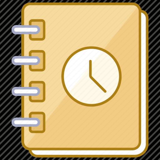 agenda, day, log, organizer, planner, schedule, scheduler icon