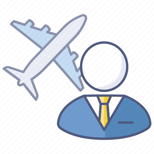 business trip, company, global, international, overseas, travel icon