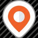 business, destination, location, mark, navigation, pin, social network icon