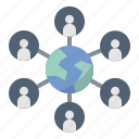 collaborate, group, internet, network, team
