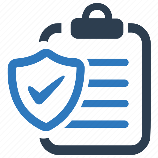 Insurance policy, protection, report icon - Download on ...