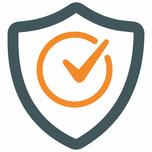 protection, security, sheild, trust, verification, verified, verify icon