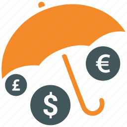 insurance, investments, money, protection icon