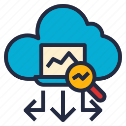 advance, analytics, autonomous, business, data, intelligence, tool icon