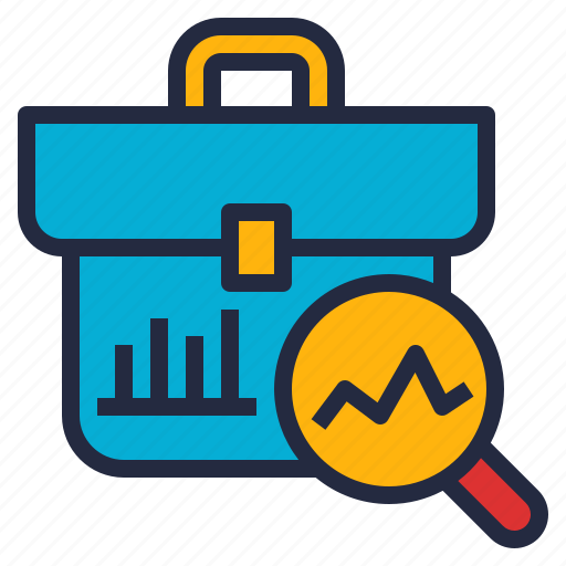analytics, business, investigation, research, skill, technology icon