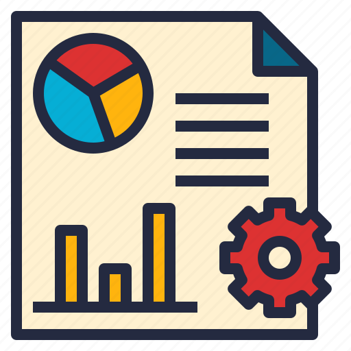 analyze, business, data, graph, reporting, software, tools icon
