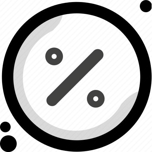 business, calculator, divide, fee, percent, percentage, split icon