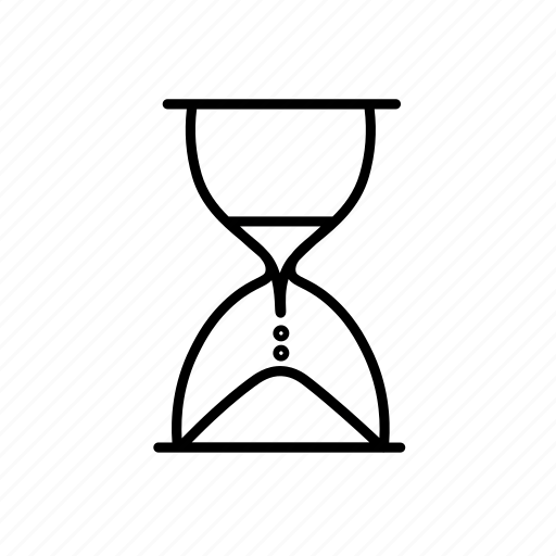 business, dead-line, hourglass, pressure, sand glass, time, work icon