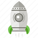 business, new, rocket, startup icon