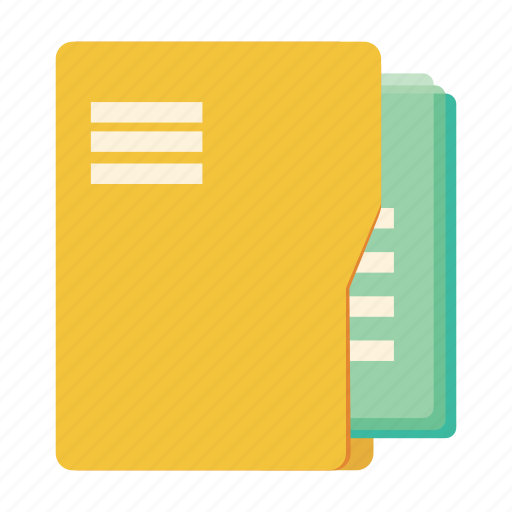 database, documents, file, file manager, folder, office, page icon