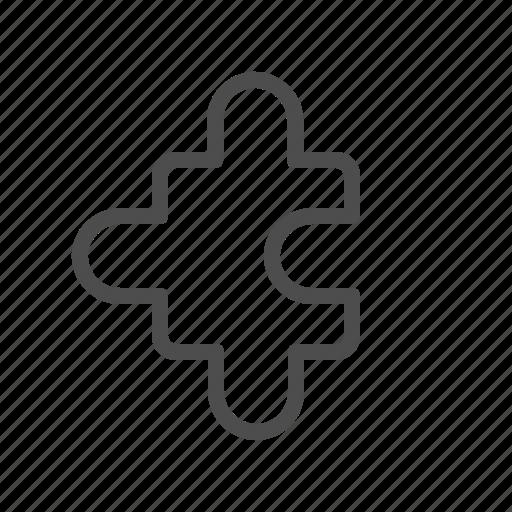 business, puzzle, team icon