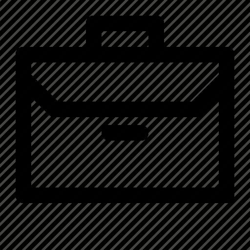 bag, business, partner, work icon