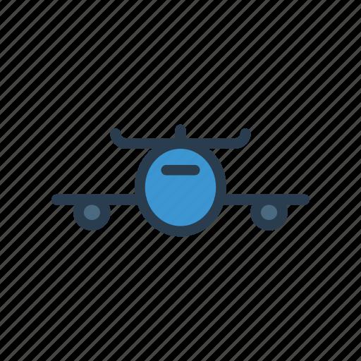 airbus, flight, plane, trasnport, travel icon