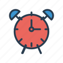 alarm, clock, ring, schedule, time icon