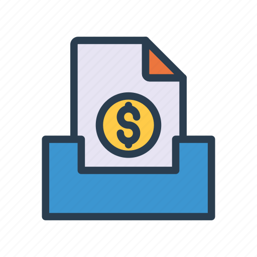 Archive, bills, document, files, invoice icon - Download on Iconfinder