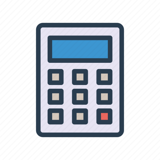 accounting, business, calculation, calculator, education icon
