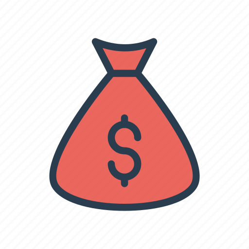 Bag, cash, dollar, money, saving icon - Download on Iconfinder