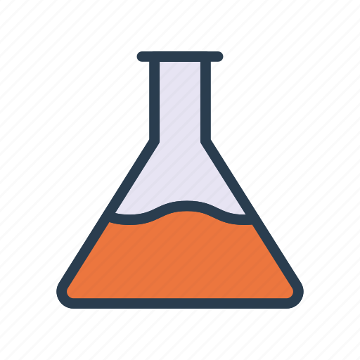 Experiment, flask, lab, science, test icon - Download on Iconfinder