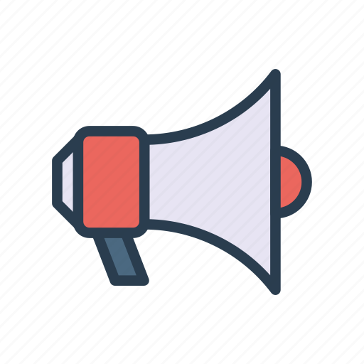 Ads, loud, marketing, megaphone, speaker icon - Download on Iconfinder