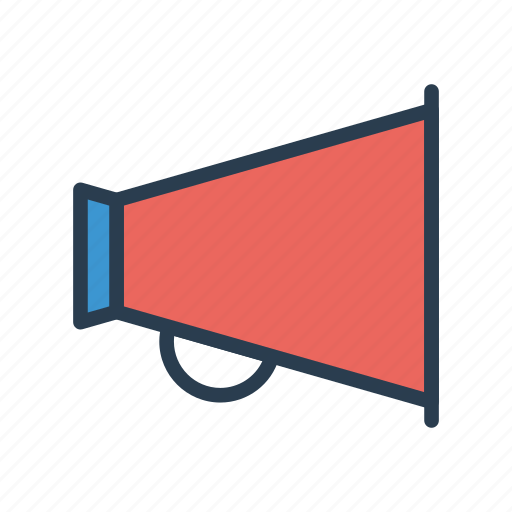 advertisement, marketing, megaphone, sound, speaker icon