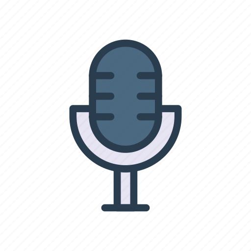 audio, microphone, mike, recorder, voice icon