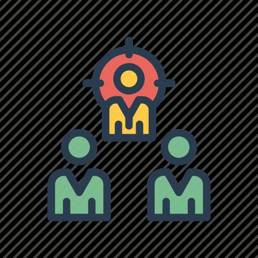 Aim, focus, goal, organization, target icon - Download on Iconfinder