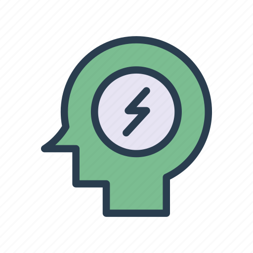 mind, persons, profile, thinking, user icon