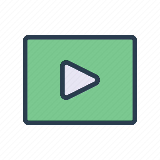 Media, play, player, streaming, video icon - Download on Iconfinder