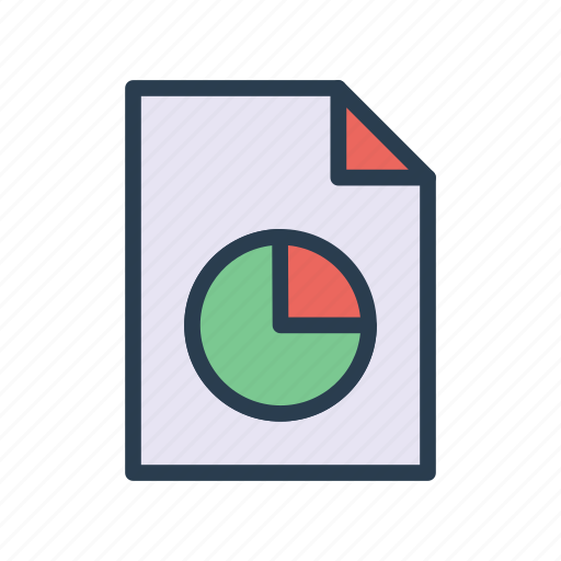 Chart, document, graph, page, report icon - Download on Iconfinder