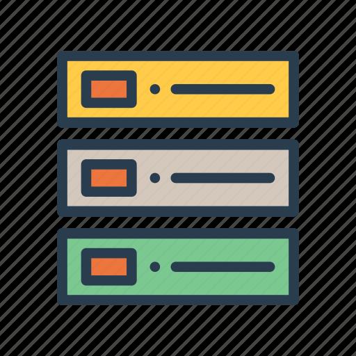 database, datacenter, mainframe, server, storage icon