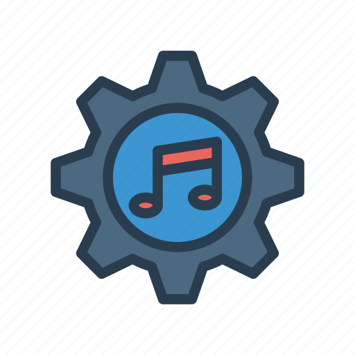 Configuration, gear, music, option, setting icon - Download on Iconfinder