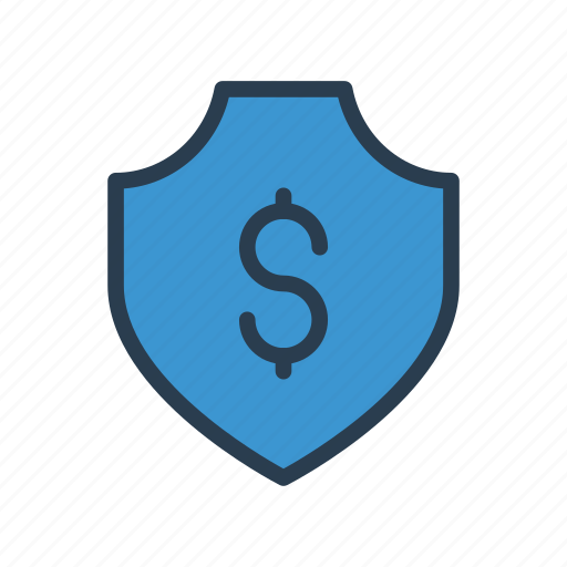 Dollar, protection, safe, security, shield icon - Download on Iconfinder