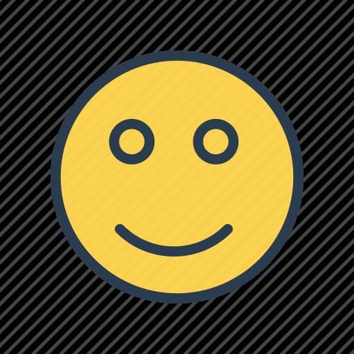 Emoji, expression, face, happy, smile icon - Download on Iconfinder