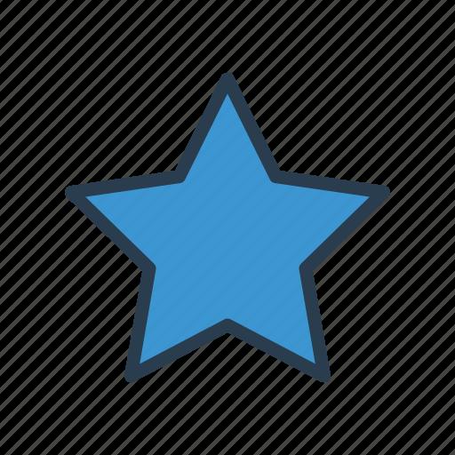achievement, grade, rank, shine, star icon