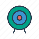 achievement, dartboard, goal, success, target icon