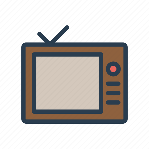 device, entertainment, monitor, screen, television icon