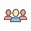 business team, group, people, team icon