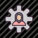 management, schedule, team icon