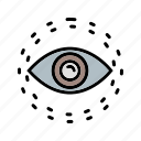 b030, eye, find, search, view, visible, vision icon