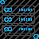 data, sever, storage icon