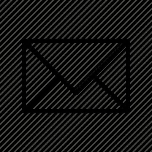 envelope, inbox, letter, mail, message icon